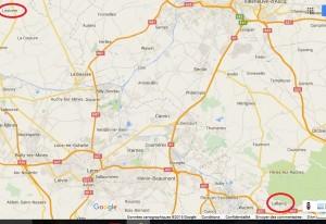 plan de route lallaing 2